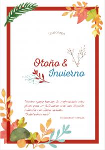 Menús Otoño & Invierno